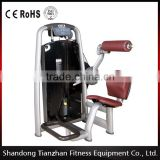 body exercise gym equipment /pin loaded fitness equipment /back extension /tz-6006