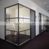 Factory competitive price aluminium interior glass wall                                                                         Quality Choice