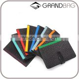 New Fashion genuine stingray skin leather rfid passport holder with card holder custom travel accessories