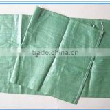 pp woven recycled green garbage bags,without printing,exported to Russian and Ukraine/packaging plastic bags/recycle bags