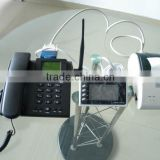 GSM/USSD/STK prepaid Call Shop Payphone/Public Phone with remote display (Low Cost Solution