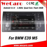 Wecaro WC-BW7018 Android 4.4.4 car dvd player for BMW E39 M5 1995-2003 with radio 3G wifi playstore
