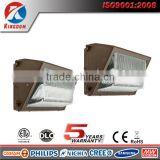 5 years warranty photocell 30w 60w 80w 100w 120w etl dlc led wall pack light                                                                                                         Supplier's Choice