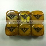 INQUIRY ABOUT Triangle dice/Company custom carved dice (can be customized for any pattern)/Toy Game dice