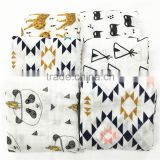 bamboo cotton muslin cloth wrapped, baby swaddles with 100% cotton                                                                         Quality Choice