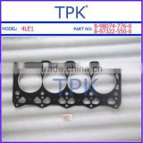 Isuzu 4LE1 Engine Rebuild Overhaul Gasket Set, 4LE1 Repair gasket kit                                                                         Quality Choice