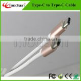 USB type-c to type-c cable,USB 3.1 type-c male to male date cable