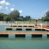 HDPE floating pontoon