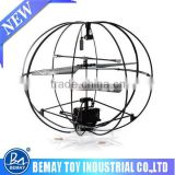 Robotic UFO 3 Channel I/R Flying Ball Remote Control Helicopter Infrared Radio Control Helicopter