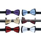 Fashion Polyester Boys Bowtie For Formal Wedding Men Bow Tie                                                                         Quality Choice