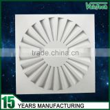 hvac galvanized sheet panel swirl diffuser                                                                         Quality Choice