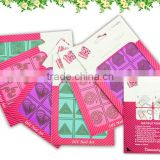 Nail Stencil Guide colorful Sticker Hollow Tip Guides nail art stickers