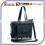 Black Leather Tote Shoulder Bag Crossbody Bag Messenger Bag