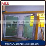 pvc frame casement doors double glass door                                                                                                         Supplier's Choice