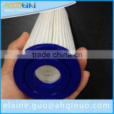 swimming pool polyester pleated filter cartridge / paper pleated water filter cartridge (factory)