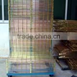 new product widly used Thousands of layers wire storage rack,dryness frame steel material