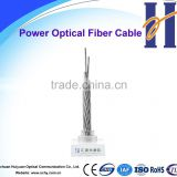 24 Core Stainless Steel Central Tube Design Opgw Ground Cable for 132kv Overhead Transmission line