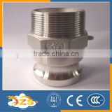 stainless steel 316 quick couping with cylindrical heads type F