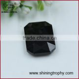 shining Baguette shape dark black crystal accessory diamond for decoration