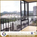 High Quality Aluminum porch Balcony Fence, Balcony balustrade Designs, Security Balcony veranda Railing