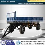 Hot sale CE approved 6 ton double axle tipping trailer for truck                                                                         Quality Choice