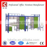 bunk bed with safe ladder strong bed frame modern metal bed frame bracket