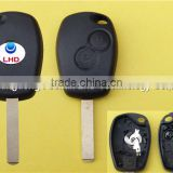 2 button keyless entry remote key case for Renault Megane Modus Espace Laguna Scenic Kangoo