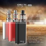 Hot Sale Factory new products smy mini tc 75w temperature control e cigarette box mod vapor box mod