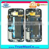 For samsung galaxy s6 edge lcd digitizer with frame,lcd screen with frame for samsung galaxy s6 edge
