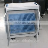 Android tablet charging trolley or chromebook safe cart made in China or multi tablet pc charge station
