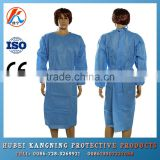 disposable products blue surgical gown for hospital anddoctor