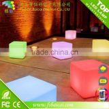 Alibaba China waterproof RGB full color led cube chairs ,waterproof led cube light , led table seat lighting for pool decoration