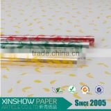 clear pp film/printed paper/film plastic packaging flower bouquets