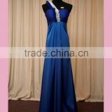 Custom made blue latest dress designs for bridesmaid