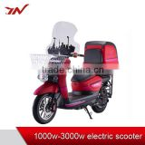 New product pollution-free 3000W electric scooter/electric bike/electric bicycle with delivery box