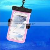 100% Sealed Universal PVC Waterproof Armband Case For iPhone 6 5S 4S S3 S4 S5/For Sony/Nokia/LG etc