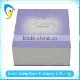 Luxury paper magnet box with close