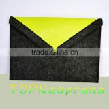 felt Laptop Case Sleeve Tablet Pouch tote bag