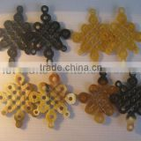 Buffalo horn elements for making jewelry, earring, pendant...