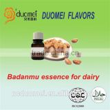 Badanmu almond flavor liquid food grade flavor concentrated flavouring essence for dairy
