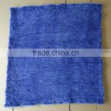wholesale price knitted mink fur blanket
