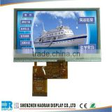 5 inch tft lcd module 480x272 tft lcd display touches screen and fog screen