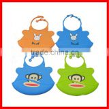 2013 Silicone Wholesale Baby Bibs in Crumb Catcher
