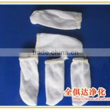 White Microfiber finger cot cotton finger cot