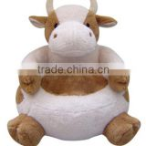 animal shaped bean bag chair,animal shape Cow chair,Plush Cow Animal Chair