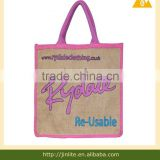 screen printing machine jute shopping bag