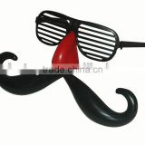 shutters glasses with nose and beard