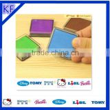 colorful plastic non-scrath scouring stamp pad making