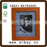 colorful custom photo frame double sided beautiful photo frame back board photo frame desk mat