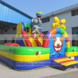 Hot-selling professional wet dry bounce houses combo